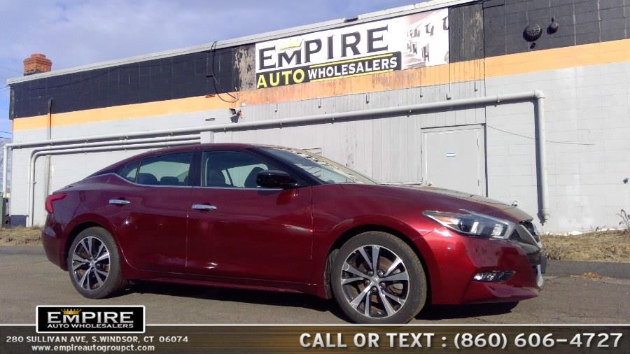 Used Nissan Maxima SL 3.5L 2017 | Empire Auto Wholesalers. S.Windsor, Connecticut