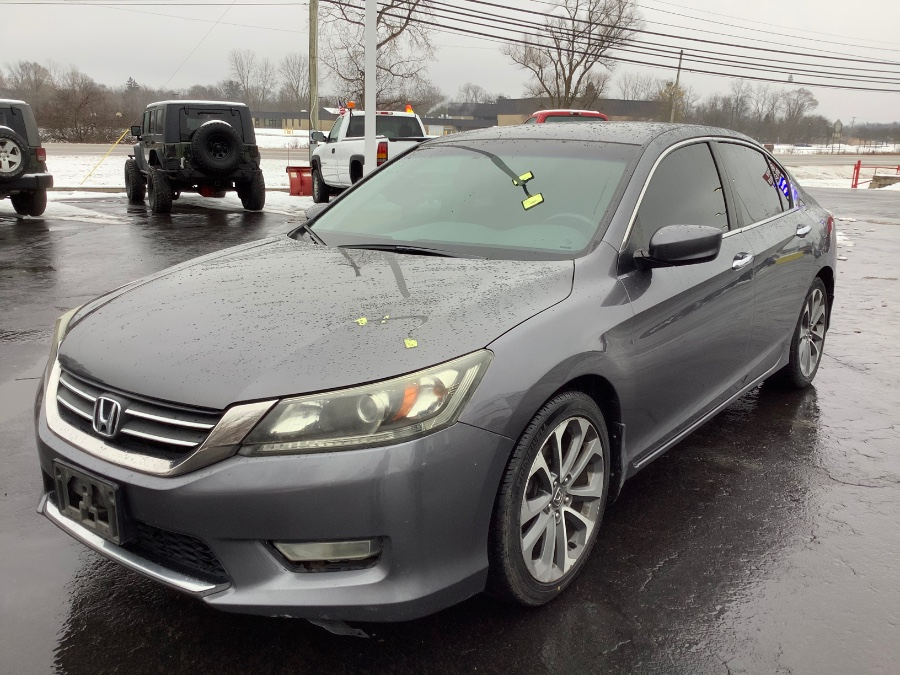 Used Honda Accord Sdn 4dr I4 Man Sport 2013 | Marsh Auto Sales LLC. Ortonville, Michigan