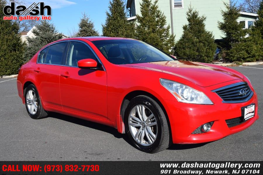 Used 2013 Infiniti G37 Sedan in Newark, New Jersey | Dash Auto Gallery Inc.. Newark, New Jersey