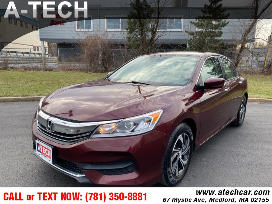 Used 2017 Honda Accord Sedan in Medford, Massachusetts | A-Tech. Medford, Massachusetts