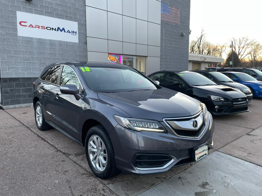 Used Acura RDX AWD w/Technology/AcuraWatch Plus Pkg 2018 | Carsonmain LLC. Manchester, Connecticut