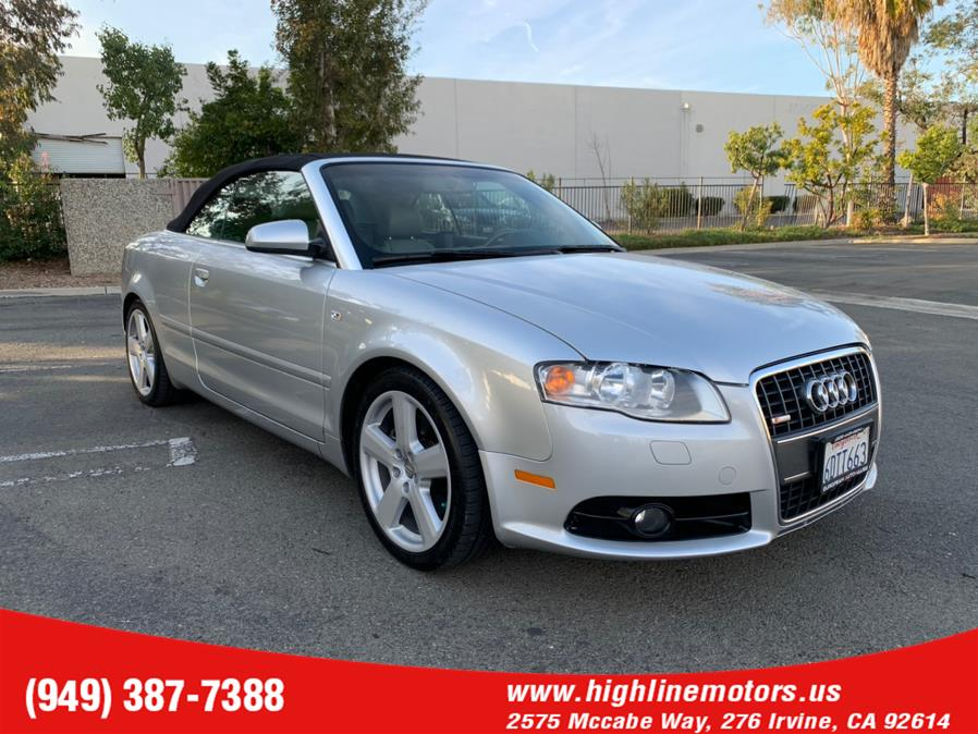 Used Audi A4 2007 2dr Cabrio CVT 2.0T FrontTrak 2007 | High Line Motors LLC. Irvine, California