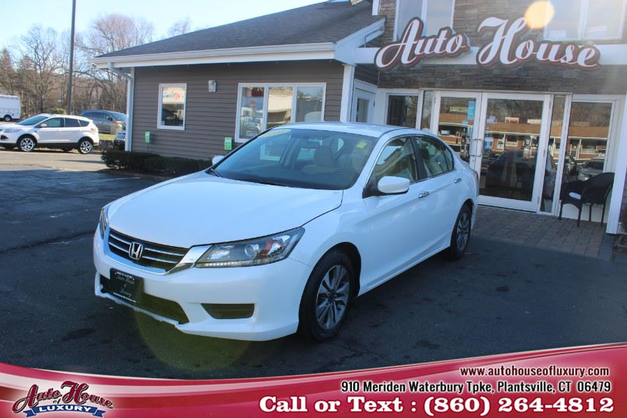 Used Honda Accord Sdn 4dr I4 CVT LX 2013 | Auto House of Luxury. Plantsville, Connecticut