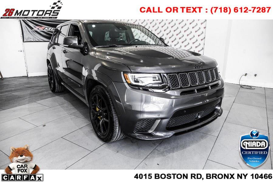 Used Jeep Grand Cherokee Trackhawk 4x4 2019 | 26 Motors Corp. Bronx, New York