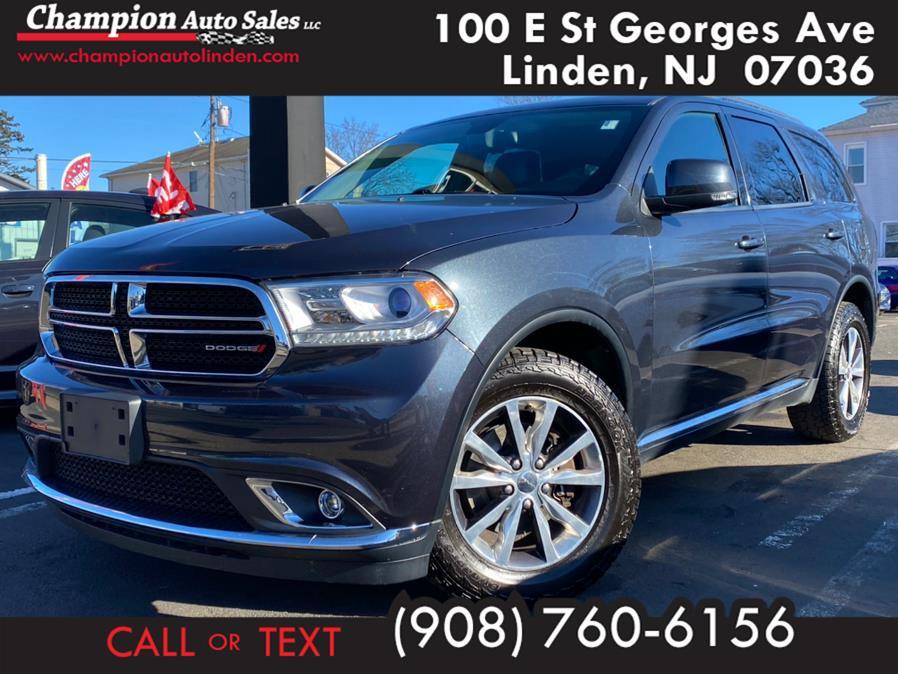 Used 2016 Dodge Durango in Linden, New Jersey | Champion Used Auto Sales. Linden, New Jersey