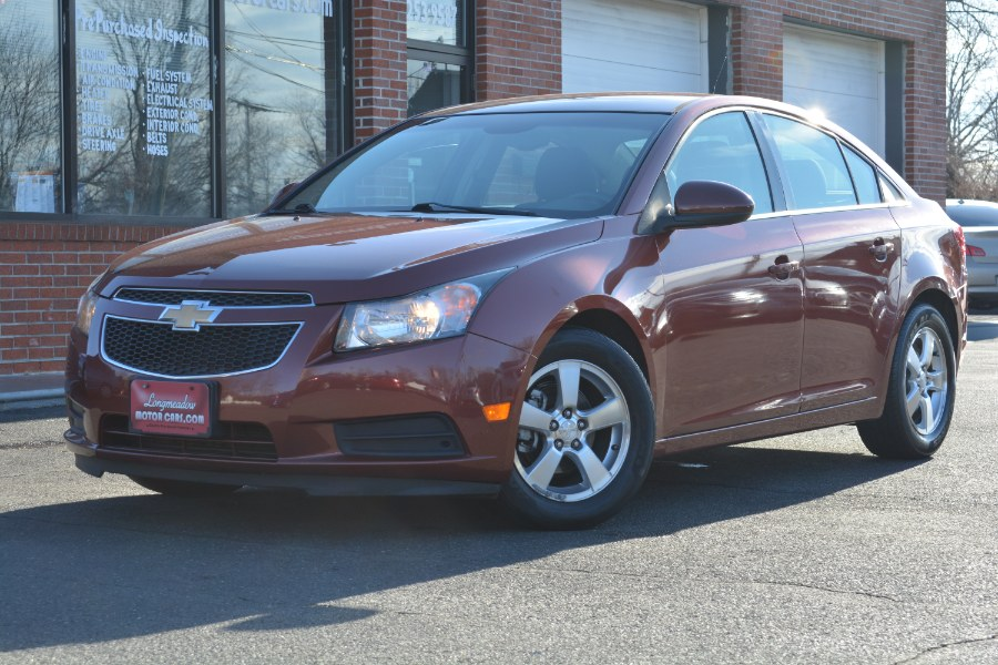 Used 2012 Chevrolet Cruze in ENFIELD, Connecticut | Longmeadow Motor Cars. ENFIELD, Connecticut