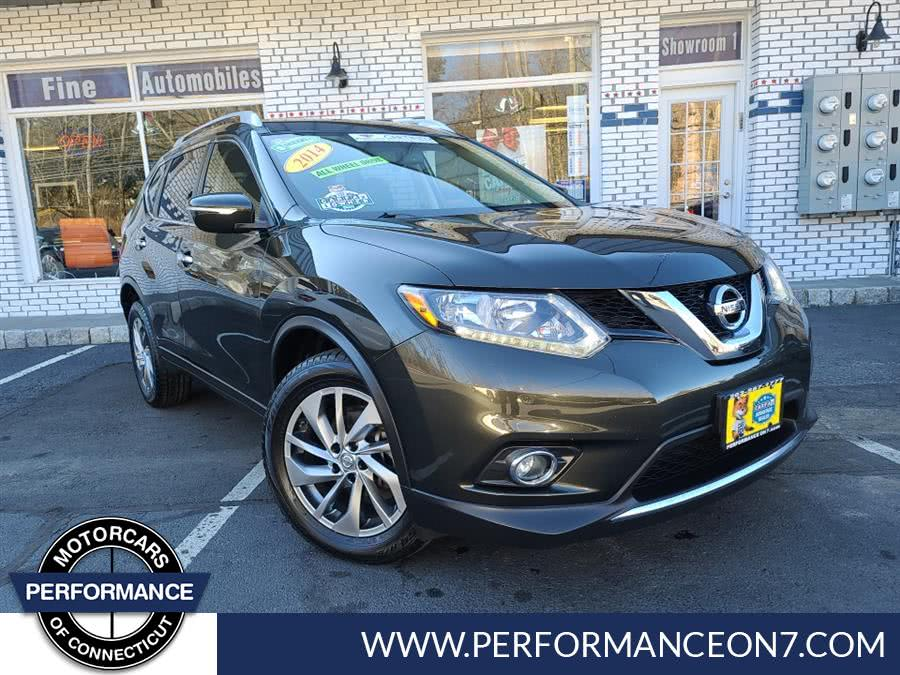 Used Nissan Rogue AWD 4dr SL 2014 | Performance Motor Cars. Wilton, Connecticut