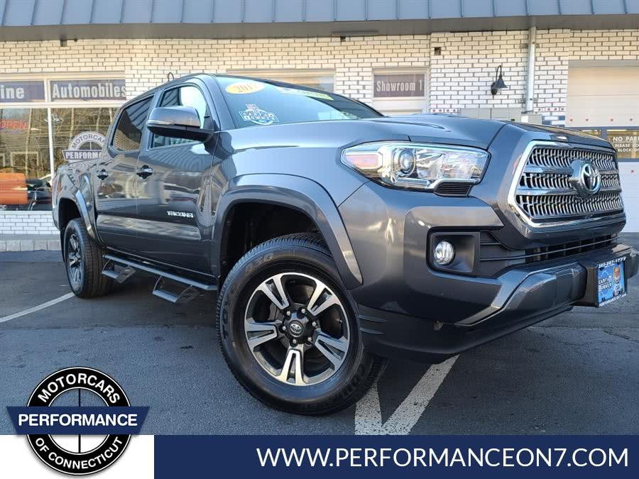 Used Toyota Tacoma TRD Pro Double Cab 5'' Bed V6 4x4 AT (Natl) 2017 | Performance Motor Cars. Wilton, Connecticut