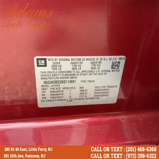 "Used Chevrolet Silverado 1500 4WD Crew Cab 143.5"" LTZ w/2LZ 2014 | Adams Auto Group . Little Ferry , New Jersey"