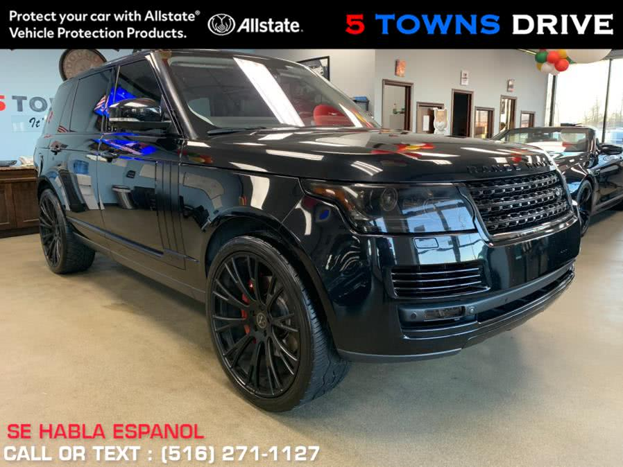 Used Land Rover Range Rover LONG WHEEL BASE 4WD 4dr Supercharged LWB 2015 | 5 Towns Drive. Inwood, New York