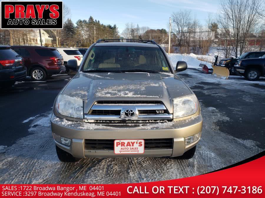 Used 2005 Toyota 4Runner in Bangor , Maine | Pray's Auto Sales . Bangor , Maine