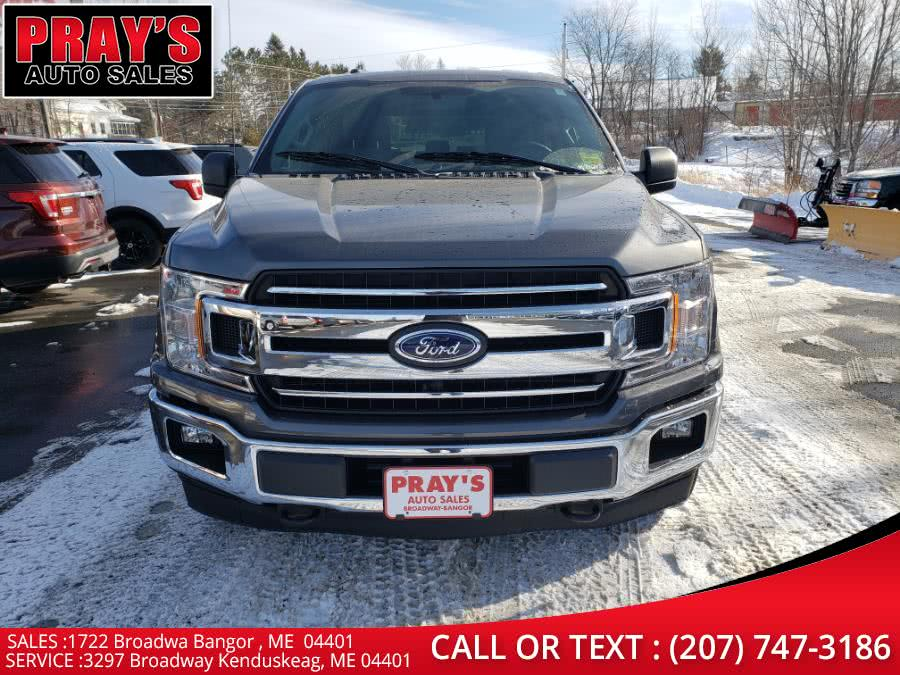 Used Ford F-150 XLT 4WD SuperCrew 5.5'' Box 2018 | Pray's Auto Sales . Bangor , Maine