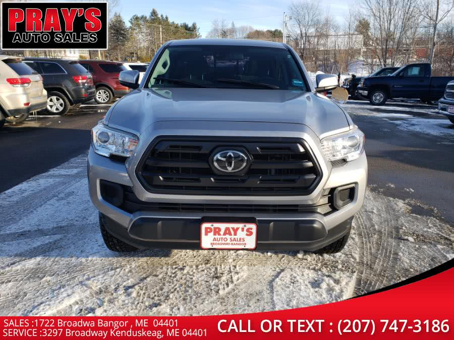 Used Toyota Tacoma SR Double Cab 5'' Bed I4 4x2 AT (Natl) 2018 | Pray's Auto Sales . Bangor , Maine