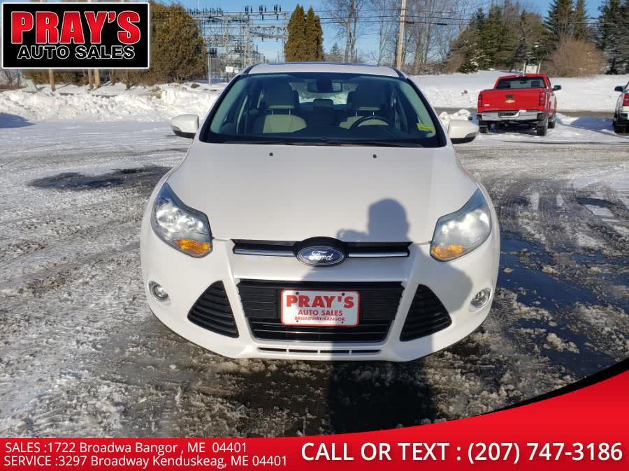 Used 2012 Ford Focus in Bangor , Maine | Pray's Auto Sales . Bangor , Maine