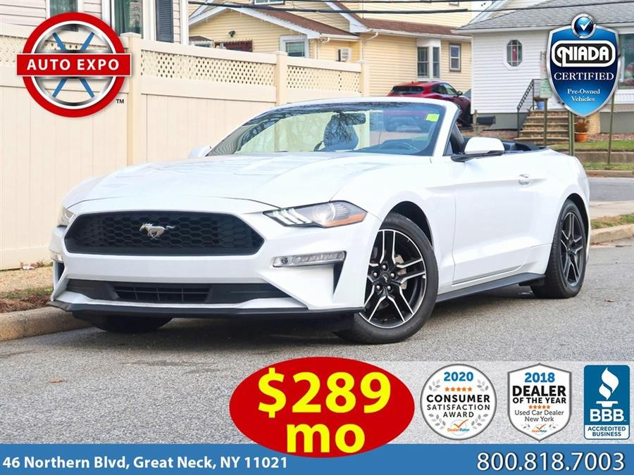 Used 2020 Ford Mustang in Great Neck, New York | Auto Expo Ent Inc.. Great Neck, New York