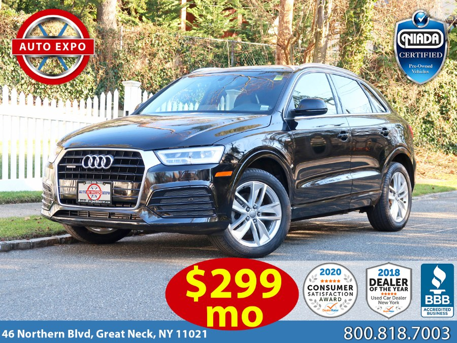 Used 2018 Audi Q3 in Great Neck, New York | Auto Expo Ent Inc.. Great Neck, New York