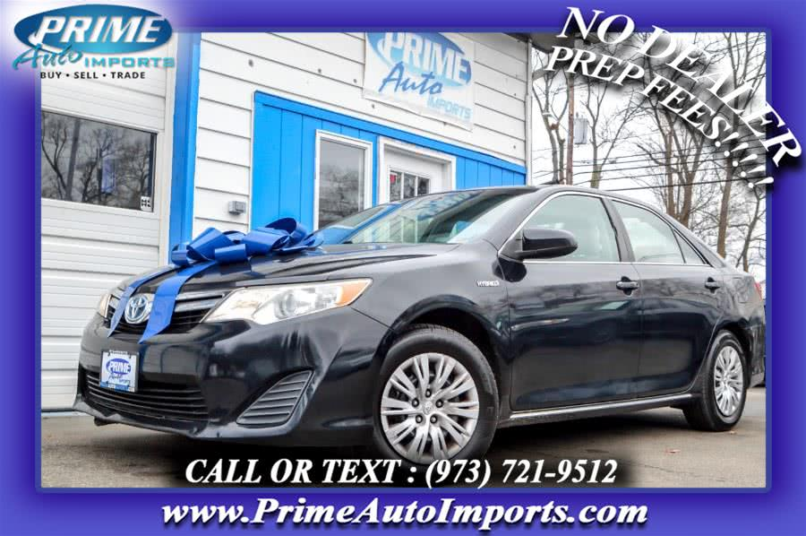 Used 2012 Toyota Camry Hybrid in Bloomingdale, New Jersey | Prime Auto Imports. Bloomingdale, New Jersey