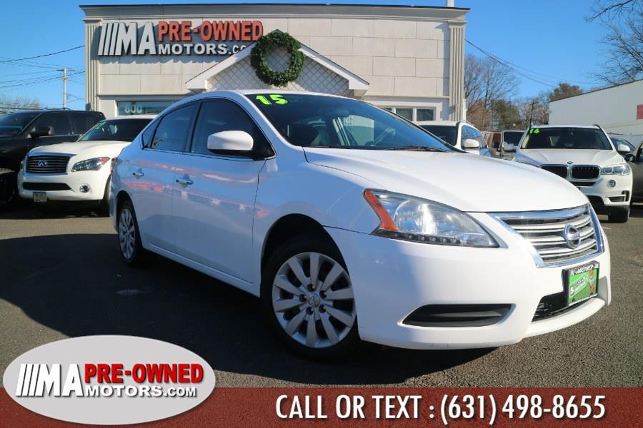Used 2015 Nissan Sentra in Huntington, New York | M & A Motors. Huntington, New York