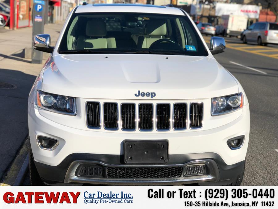 Used Jeep Grand Cherokee 4WD 4dr Limited 2015 | Gateway Car Dealer Inc. Jamaica, New York
