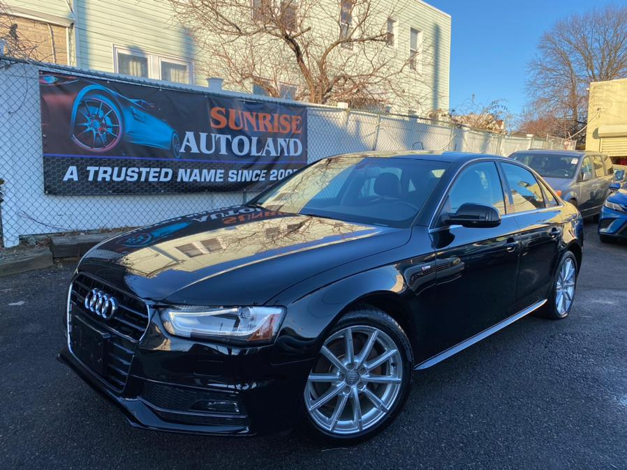 Used 2015 Audi A4 in Jamaica, New York | Sunrise Autoland. Jamaica, New York