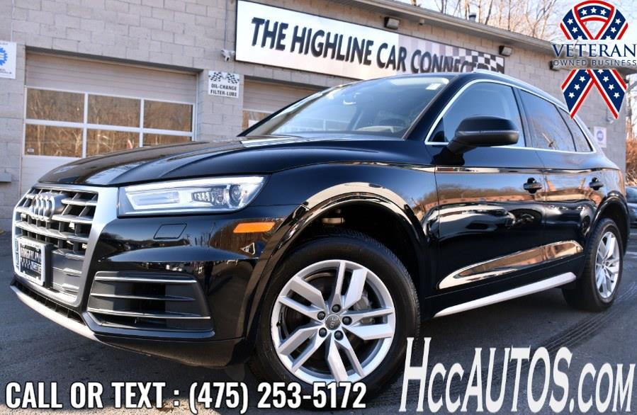 Used 2020 Audi Q5 in Waterbury, Connecticut | Highline Car Connection. Waterbury, Connecticut