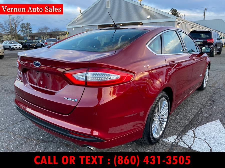 Used Ford Fusion 4dr Sdn SE Hybrid FWD 2014 | Vernon Auto Sale & Service. Manchester, Connecticut