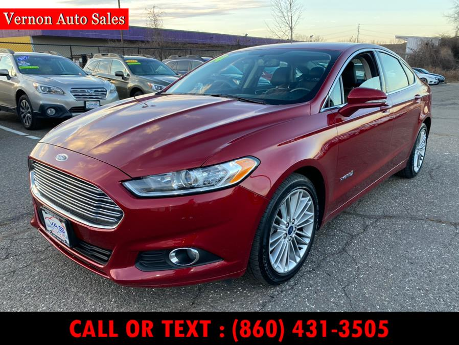 Used 2014 Ford Fusion in Manchester, Connecticut   Vernon Auto Sale & Service. Manchester, Connecticut