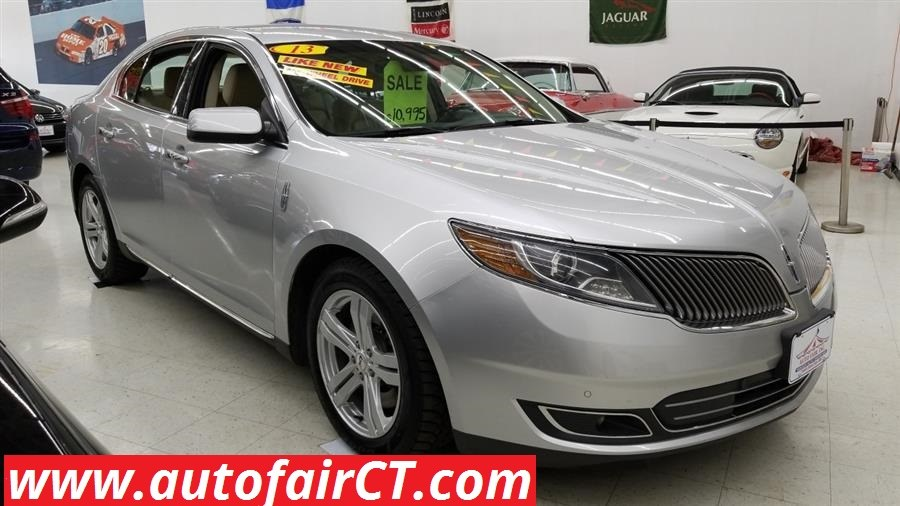 2013 Lincoln MKS 4dr Sdn 3.7L AWD, available for sale in West Haven, CT