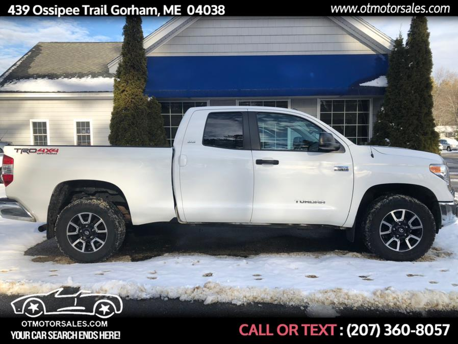 Used 2016 Toyota Tundra 4WD Truck in Gorham, Maine | Ossipee Trail Motor Sales. Gorham, Maine