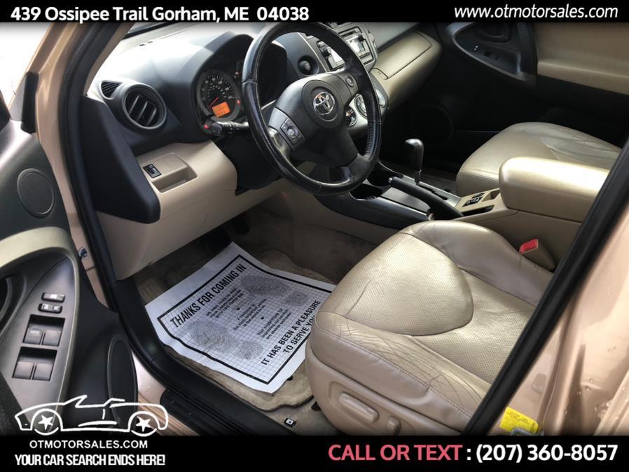 Used Toyota RAV4 4WD 4dr I4 Limited (Natl) 2012   Ossipee Trail Motor Sales. Gorham, Maine