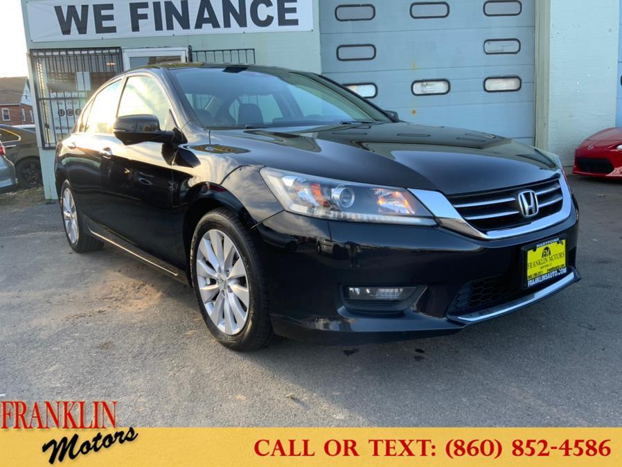Used Honda Accord Sedan 4dr I4 CVT EX-L w/Navi 2014 | Franklin Motors Auto Sales LLC. Hartford, Connecticut