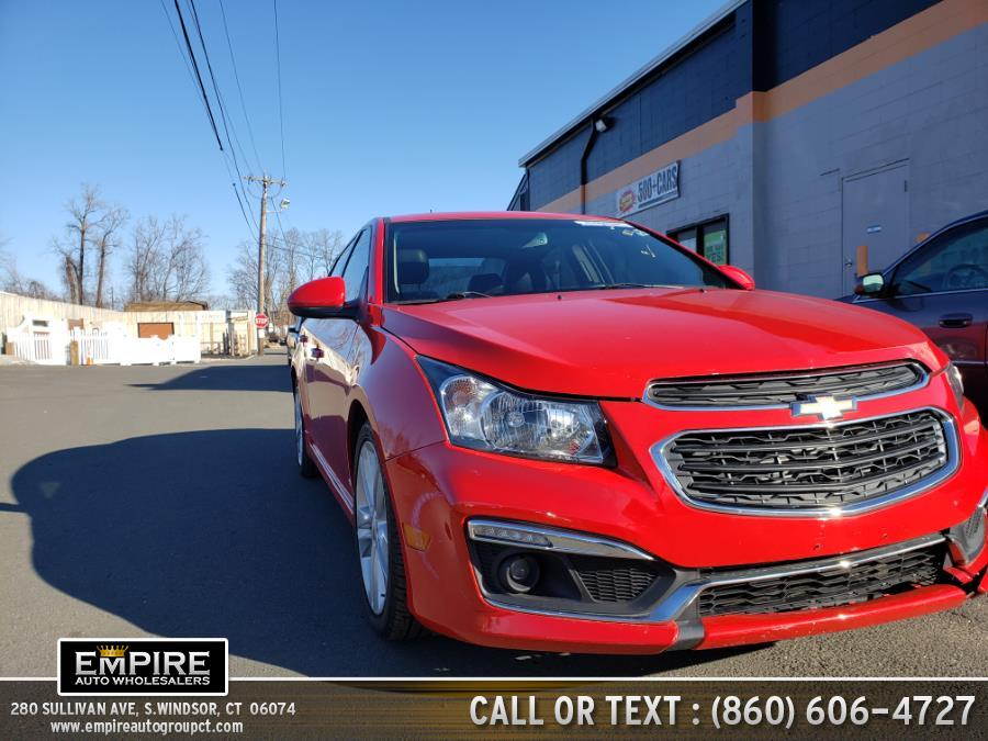 Used 2015 Chevrolet Cruze in S.Windsor, Connecticut | Empire Auto Wholesalers. S.Windsor, Connecticut