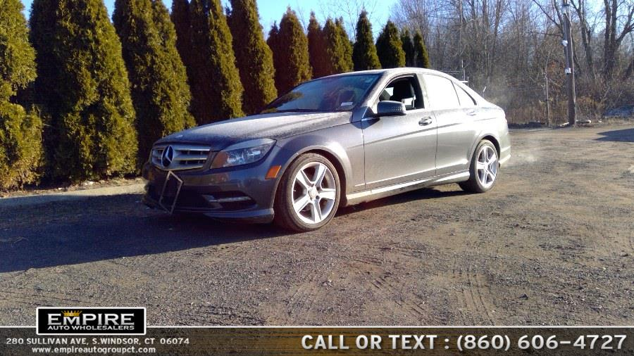 Used Mercedes-Benz C-Class 4matic 2011 | Empire Auto Wholesalers. S.Windsor, Connecticut