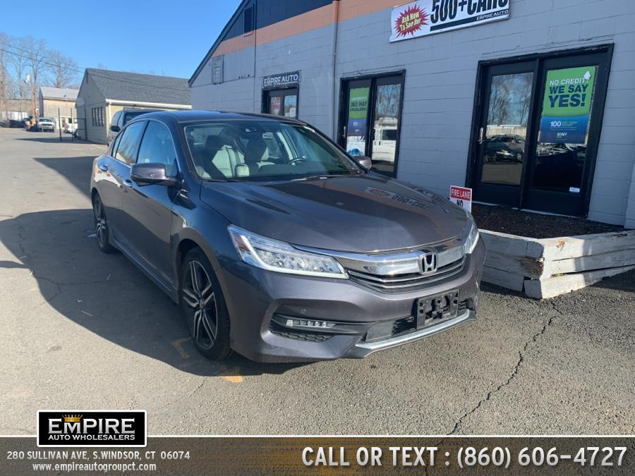 Used Honda Accord Sedan Touring Auto 2017 | Empire Auto Wholesalers. S.Windsor, Connecticut