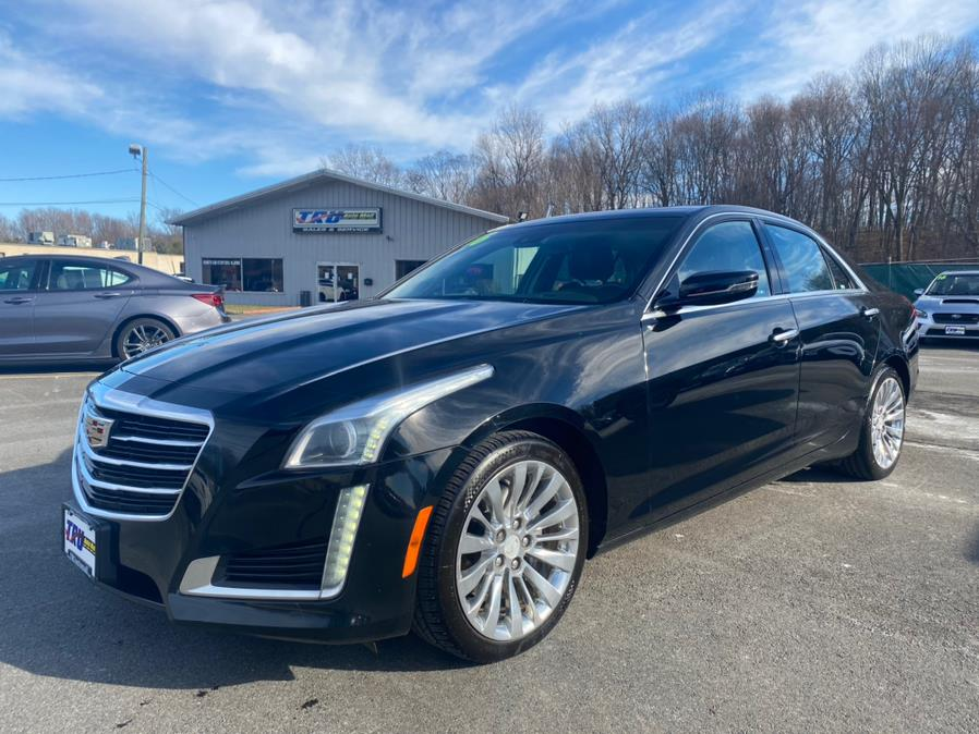 Used Cadillac CTS Sedan 4dr Sdn 3.6L Luxury Collection AWD 2016 | Tru Auto Mall. Berlin, Connecticut