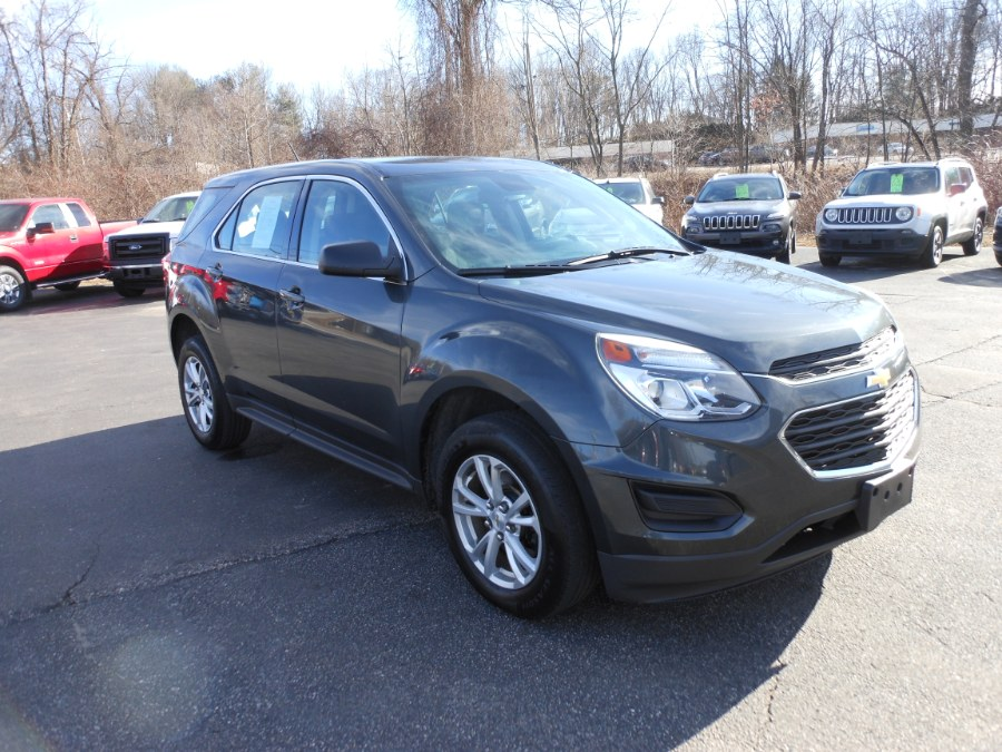 Used Chevrolet Equinox AWD 4dr LS 2017 | Yantic Auto Center. Yantic, Connecticut