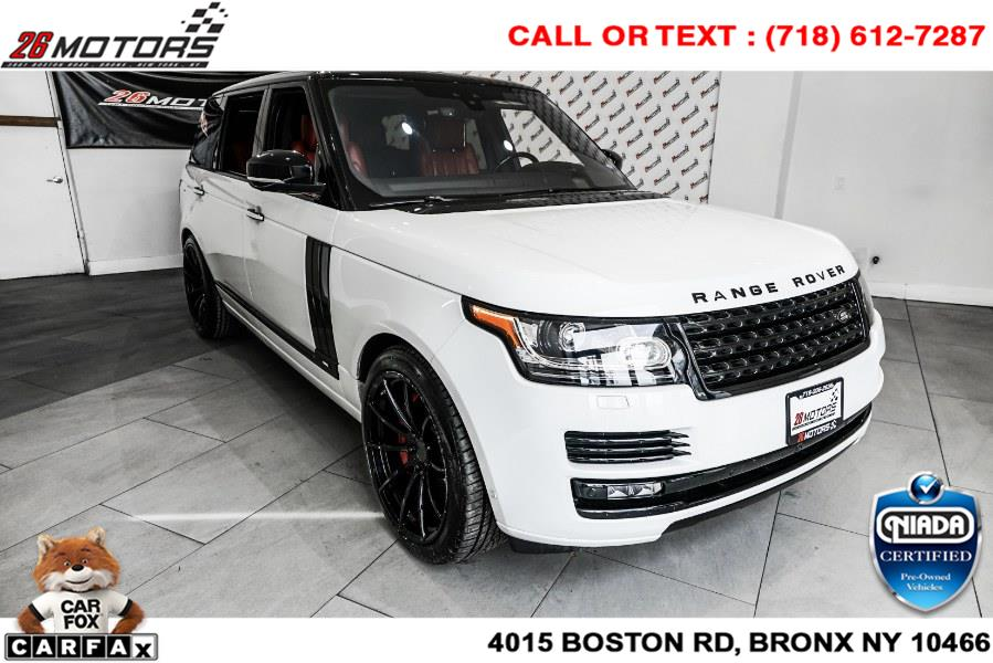 Used Land Rover Range Rover ///V8 Supercharged Autobiography LWB V8 Supercharged Autobiography LWB 2017 | 26 Motors Corp. Bronx, New York