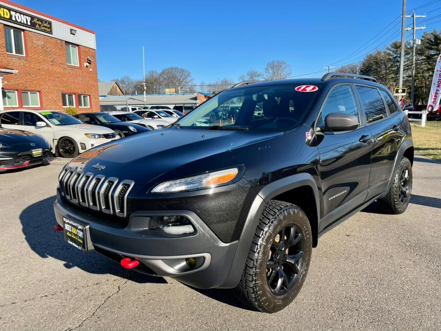 Used 2014 Jeep Cherokee in South Windsor, Connecticut | Mike And Tony Auto Sales, Inc. South Windsor, Connecticut