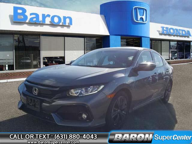 Used 2019 Honda Civic Hatchback in Patchogue, New York | Baron Supercenter. Patchogue, New York