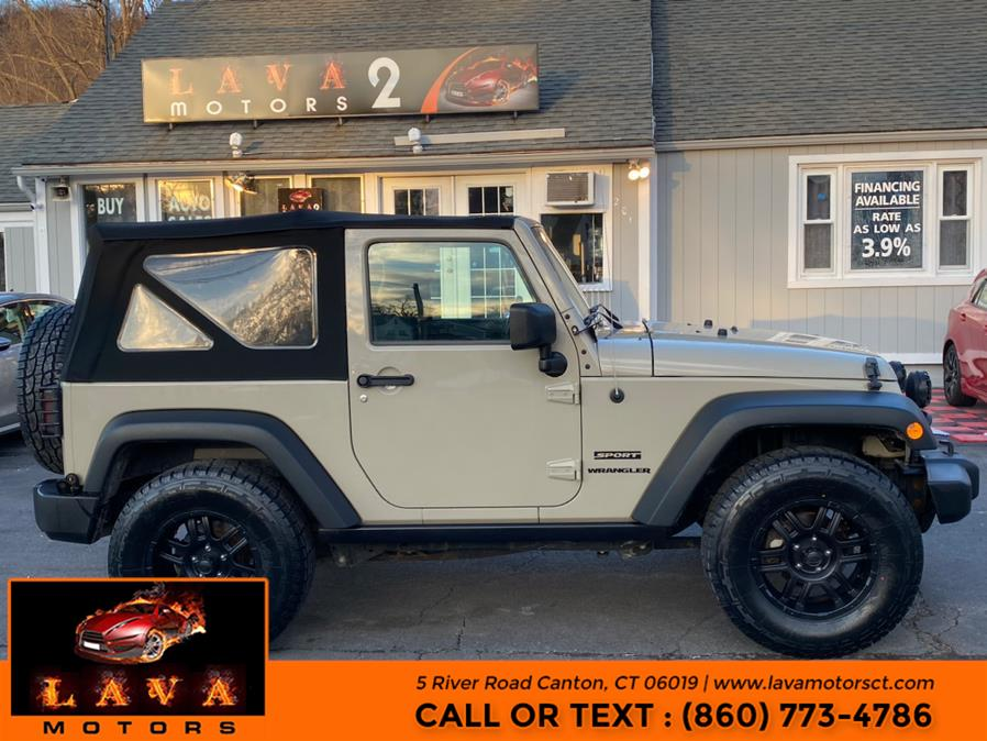 Used 2017 Jeep Wrangler in Canton, Connecticut | Lava Motors. Canton, Connecticut