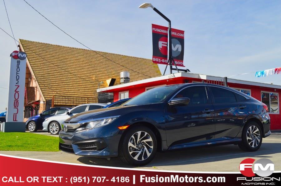 Used 2016 Honda Civic Sedan in Moreno Valley, California | Fusion Motors Inc. Moreno Valley, California