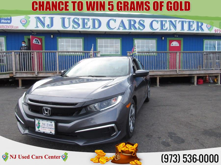 Used 2019 Honda Civic Sedan in Irvington, New Jersey | NJ Used Cars Center. Irvington, New Jersey