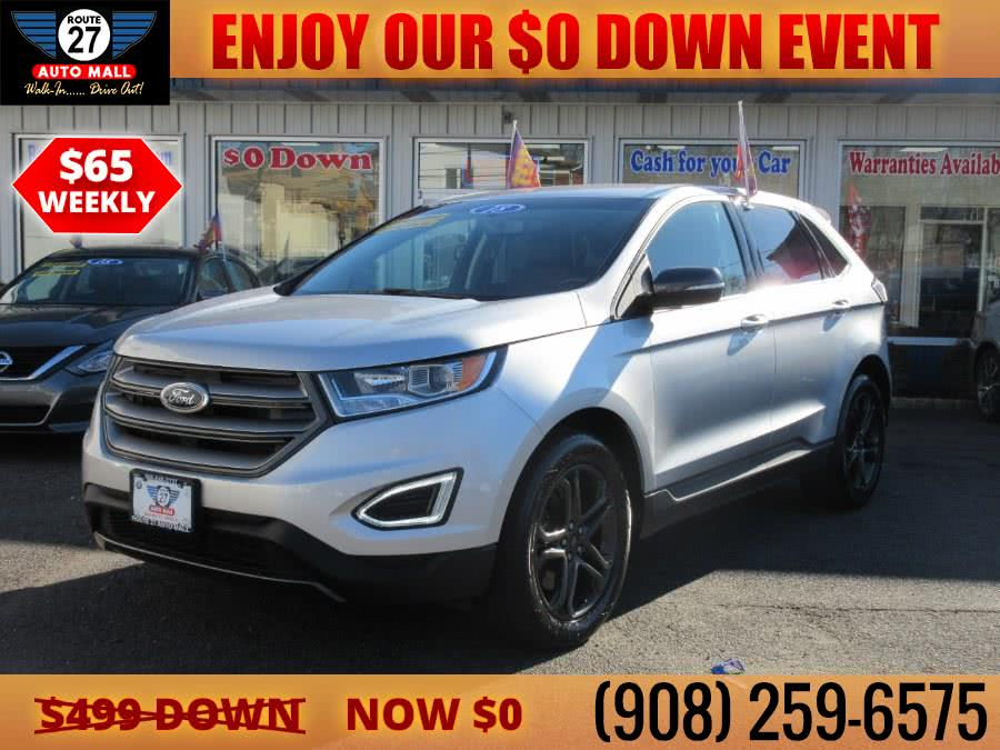 Used 2018 Ford Edge in Linden, New Jersey | Route 27 Auto Mall. Linden, New Jersey