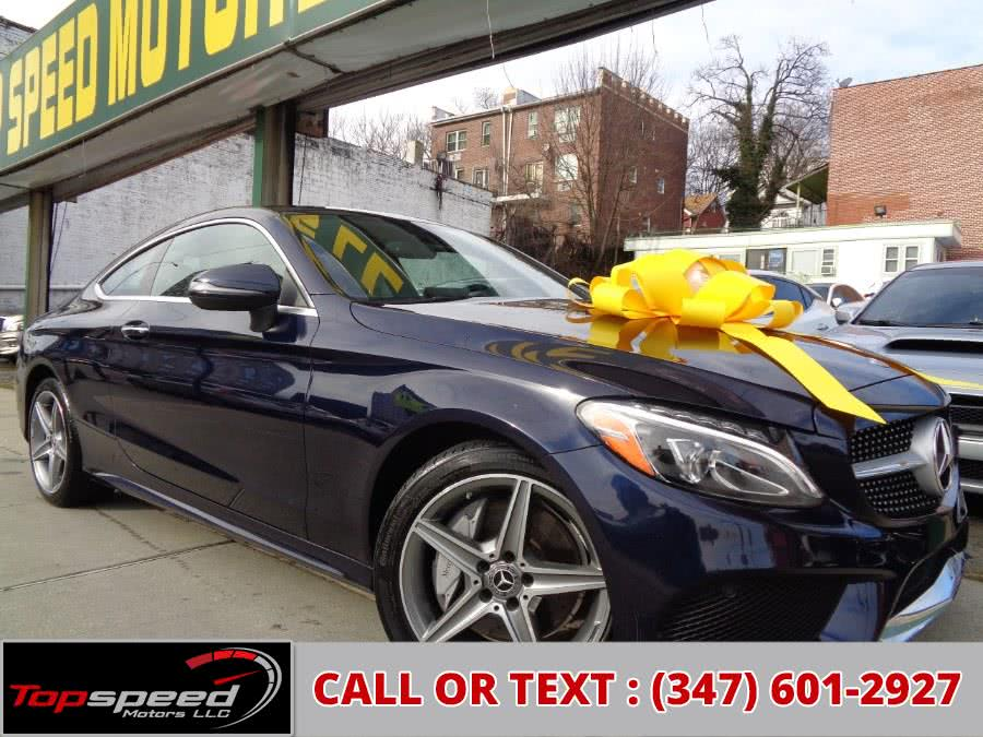 Used 2017 Mercedes-Benz C300 4MATIC Coupe in Jamaica, New York | Top Speed Motors LLC. Jamaica, New York