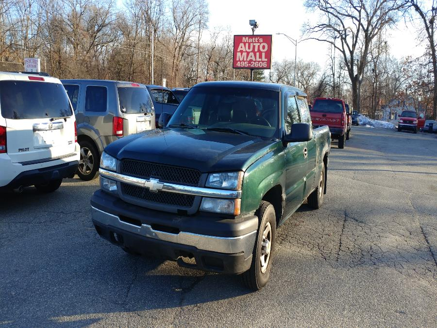 Used 2003 Chevrolet Silverado 1500 in Chicopee, Massachusetts | Matts Auto Mall LLC. Chicopee, Massachusetts