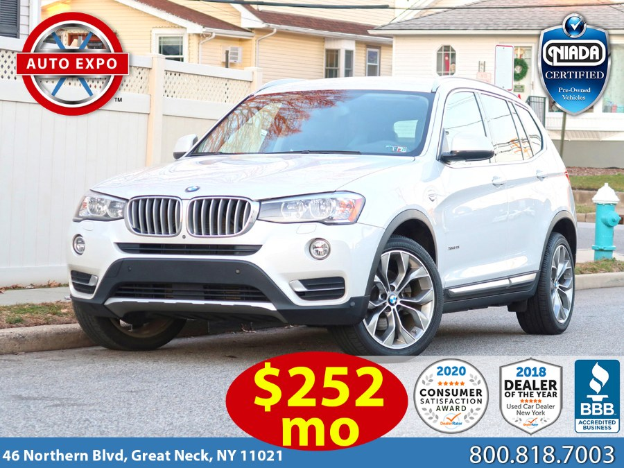 Used 2017 BMW X3 in Great Neck, New York | Auto Expo Ent Inc.. Great Neck, New York