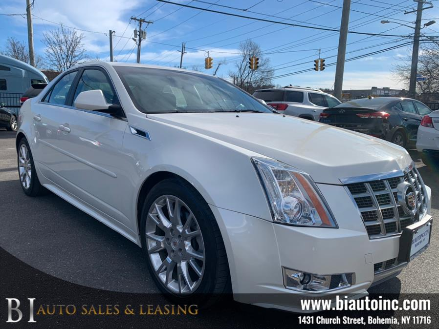 Used Cadillac CTS Sedan 4dr Sdn 3.6L Performance AWD 2013 | B I Auto Sales. Bohemia, New York