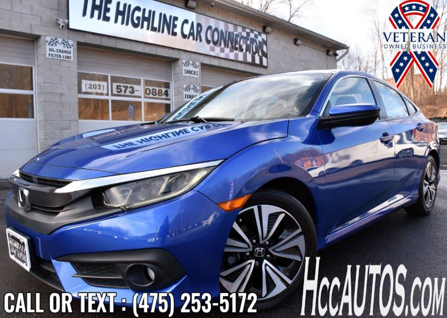 Used 2017 Honda Civic Sedan in Waterbury, Connecticut | Highline Car Connection. Waterbury, Connecticut