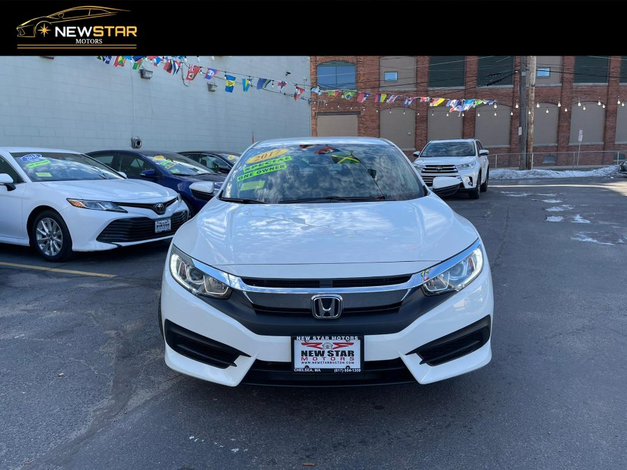 Used Honda Civic Sedan LX CVT 2017 | New Star Motors. Chelsea, Massachusetts