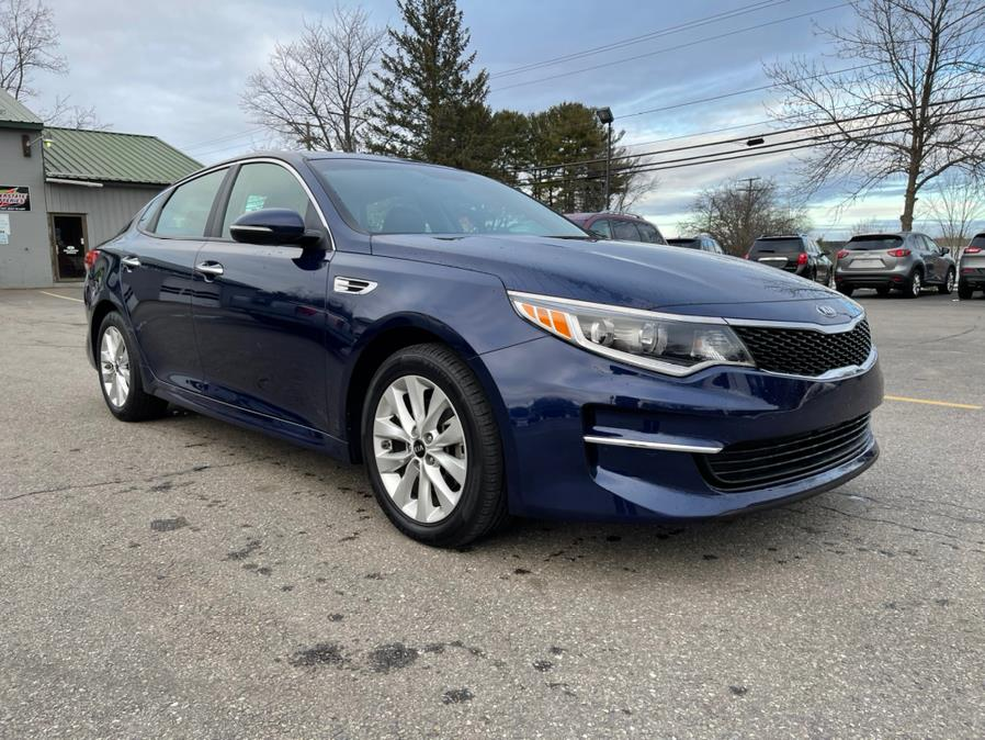 Used 2018 Kia Optima in Merrimack, New Hampshire | Merrimack Autosport. Merrimack, New Hampshire